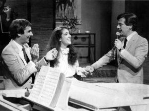 Michel Jasmin, Céline Dion, Pierre Lalonde (Source: Archives Le Journal de Montréal)
