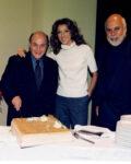 Ben Kaye, Céline Dion, René Angélil (Source: Laurent Cayla)