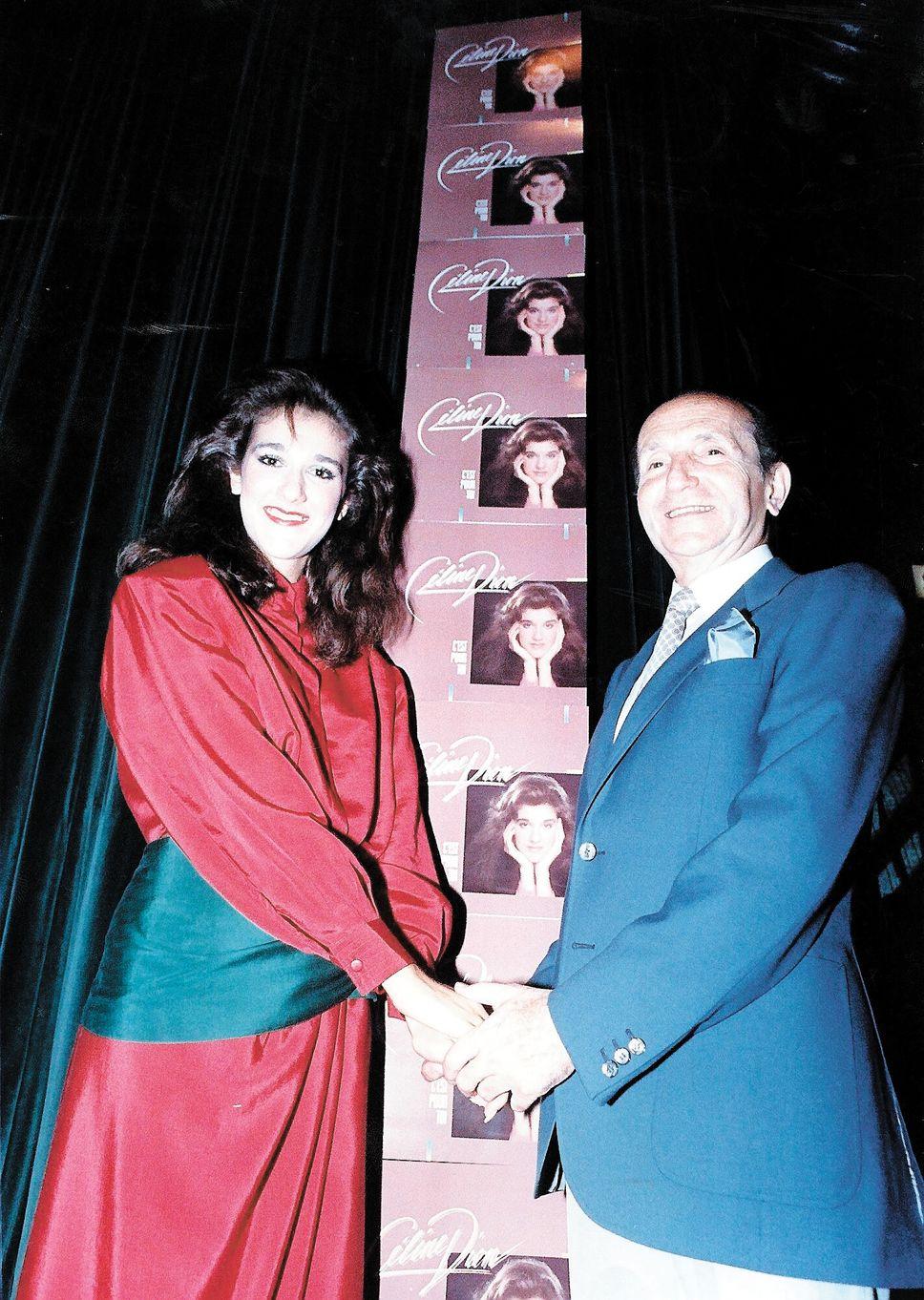 Céline Dion, Eddy Marnay (Source: Le Journal de Montréal / Archives)