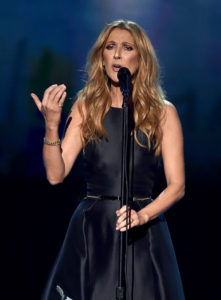Céline Dion (Nov. 21, 2015 - Source: Kevin Winter/Getty Images North America)