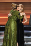 Céline Dion,    Adele (Feb. 11, 2017 - Source: Kevin Winter/Getty Images North America)