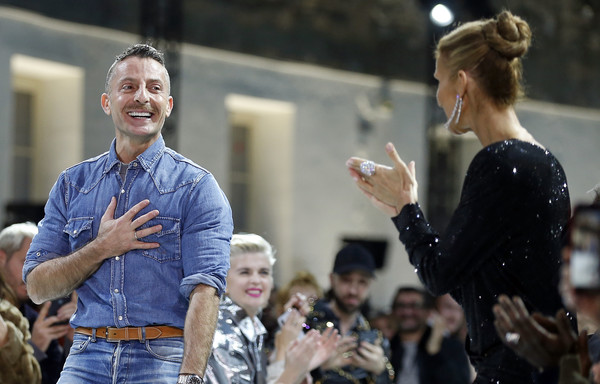 Céline Dion,    Alexandre Vauthier (Jan. 21, 2019 - Source: Thierry Chesnot/Getty Images Europe)