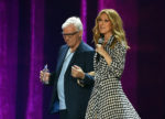 Céline Dion,    Michel Dion (Aug. 26, 2015 - Source: Ethan Miller/Getty Images North America)