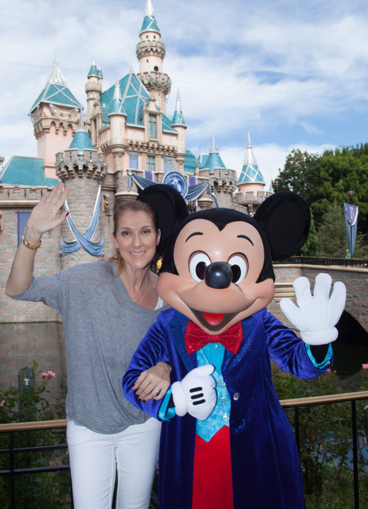 Céline Dion, Mickey Mouse
