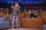 Jimmy Fallon, Céline Dion (July 20, 2016 - Source: Mike Coppola/Getty Images North America)