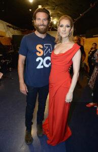 Bradley Cooper, Céline Dion (Sept. 8, 2016 - Source: Handout/Getty Images North America)