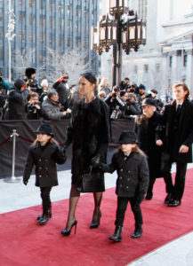 Rene Angelil,    Céline Dion,    Nelson Angelil,    Eddy Angelil,    Therese Dion (Jan. 21, 2016 - Source: Kate Hutchinson/Getty Images North America)