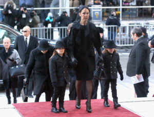 Rene Angelil,    Céline Dion,    Nelson Angelil,    Eddy Angelil,    Therese Dion (Jan. 21, 2016 - Source: Tom Szczerbowski/Getty Images North America)