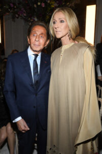 Céline Dion,    Valentino Garavani (Jan. 22, 2019 - Source: Getty Images Europe)