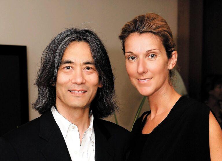 Kent Nagano, Céline Dion (Photo Archives Le Journal de Montréal)