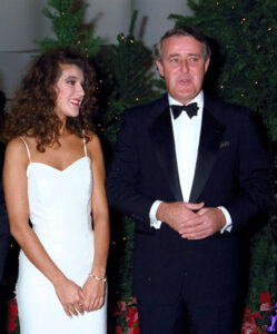 Céline Dion, Brian Mulroney (Source: Canadian Museum of History, K91-1053)