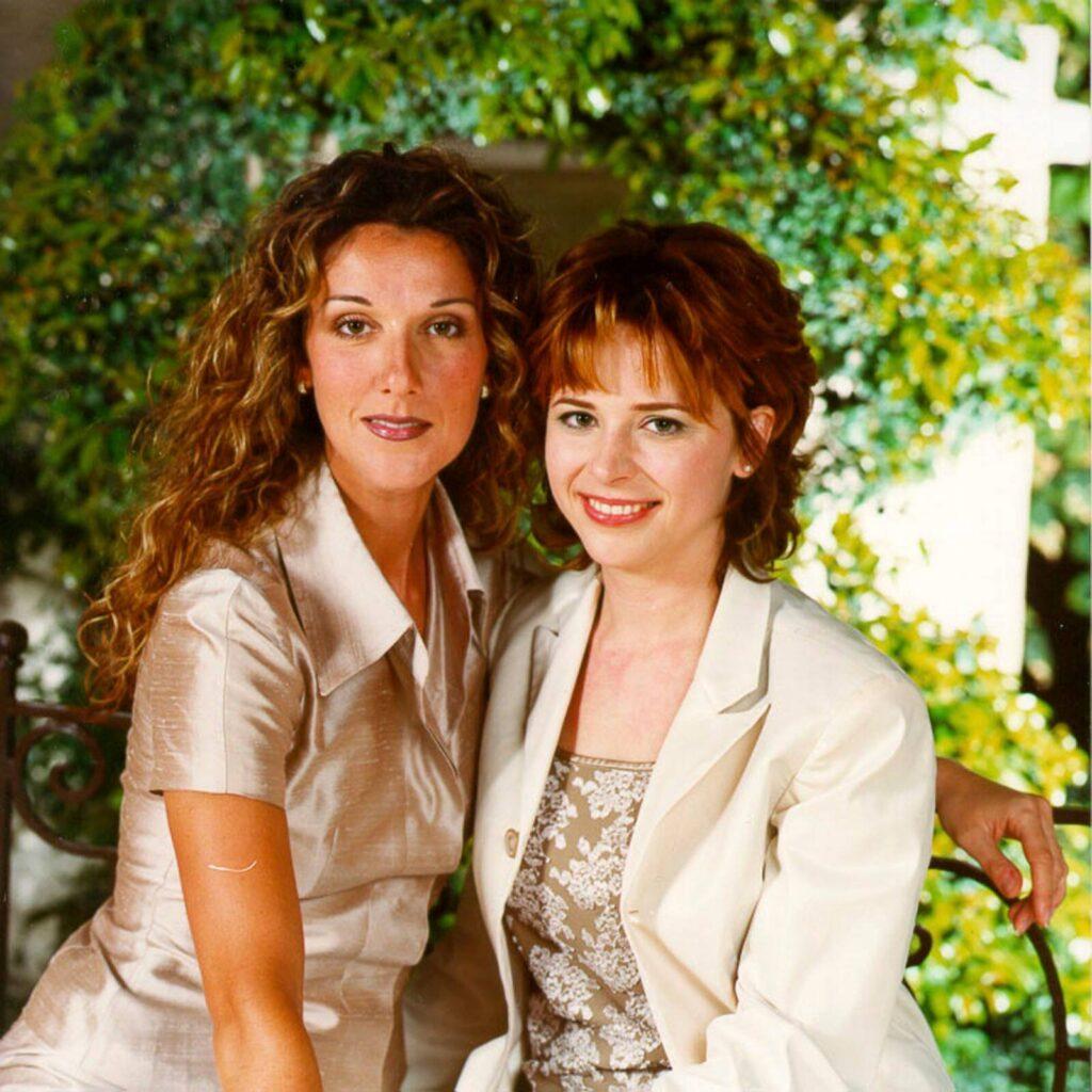 Céline Dion, Julie Snyder (Photo Archives Le Journal de Montréal)