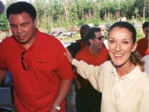 Muhammad Ali, Céline Dion (MARCOS TOWNSEND / MONTREAL GAZETTE)