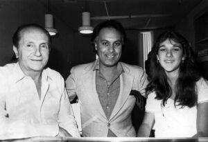 Eddy Marnay, René Angélil, Céline Dion (Source: Archives Le Journal de Montréal)