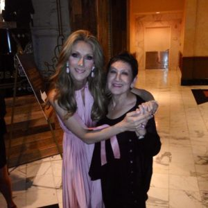 Celine Dion, Ramona Almirez (Photo: Ramona Almirez)