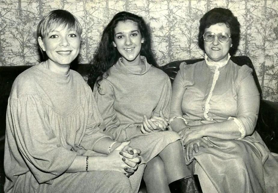 Anne-Renée Kirouak, Céline Dion, Thérèse Dion (Source: Gilles Lafrance / Le Journal de Montréal)