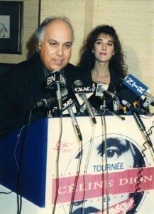 René Angélil et Céline Dion (PHOTO NORMAND JOLICOEUR / LES ARCHIVES / LE JOURNAL DE MONTREAL)