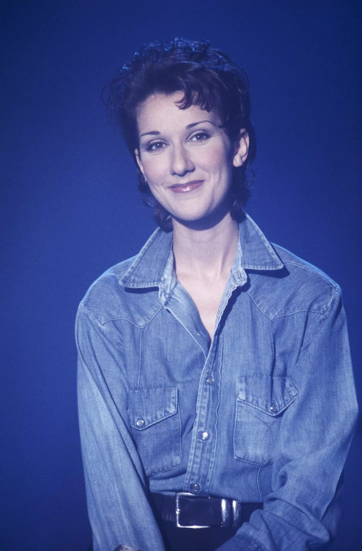 Canadian singer Celine Dion on the television set of Stars 90. (Photo by RONCEN Patrick/KIPA/SYGMA/CORBIS/GUETTY IMAGES/Sygma via Getty Images)