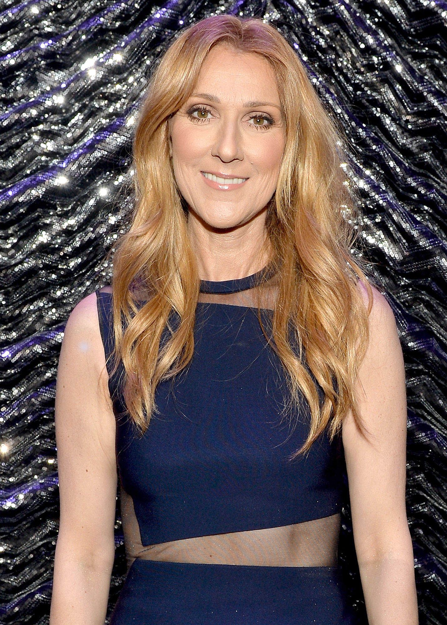 LAS VEGAS, NV - NOVEMBER 18: Singer Celine Dion onstage at the 2015 Latin Recording Academy Special Awards during the 16th Latin GRAMMY Awards at the MGM Grand Hotel & Casino on November 18, 2015 in Las Vegas, Nevada. (Photo by Rodrigo Varela/WireImage)