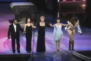 Peabo Bryson, Céline Dion, Angela Lansbury (Photo: Oscars)