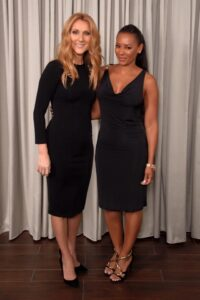 Céline Dion, Mel B (Photo: Cashman)