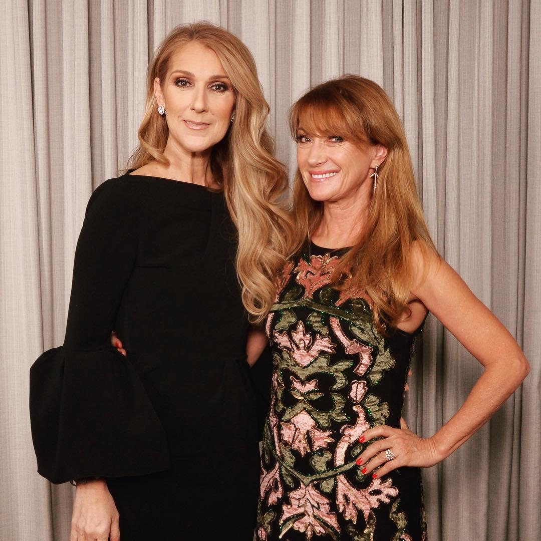 Céline Dion, Jane Seymour (Photo: Cashman)