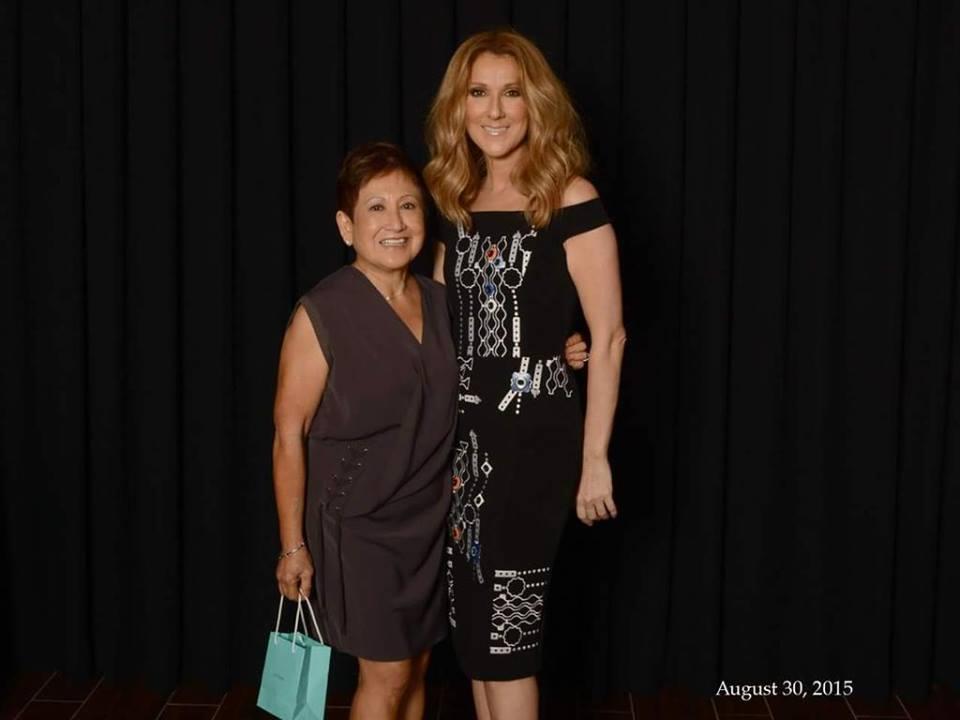 Ramona Almirez, Céline Dion