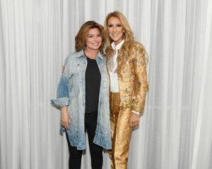 Shania Twain, Céline Dion (Photo: Cashman)