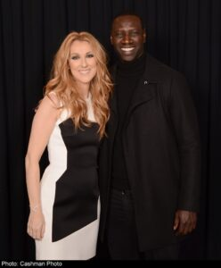 Céline Dion, Omar Sy (Photo: Cashman)