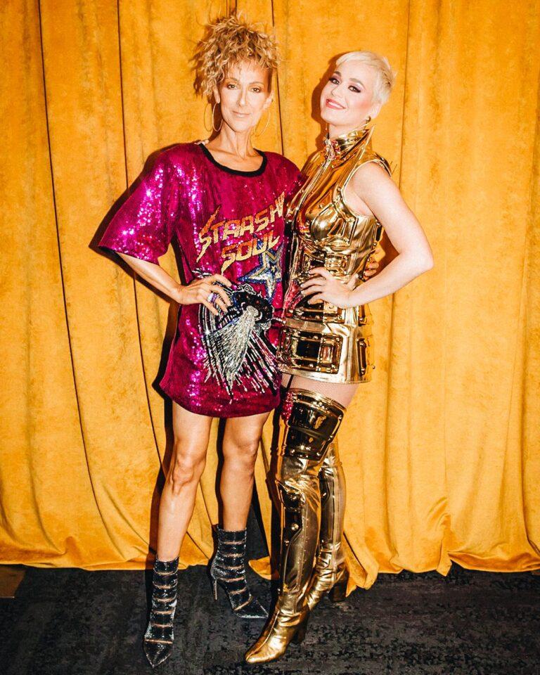 Céline Dion, Katy Perry