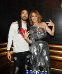 Steve Aoki, Céline Dion (Photo: Denise Truscello)