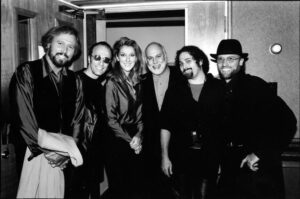 Céline Dion, René Angélil, The Bee Gees (Source: Archives Le Journal de Montréal)