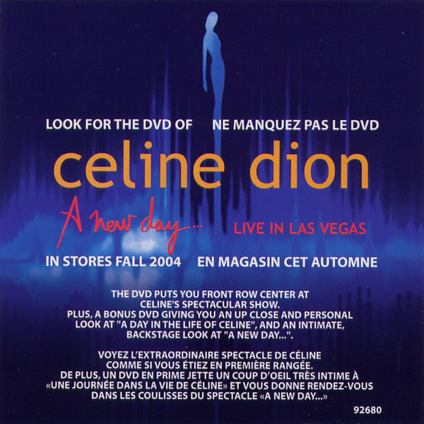 CD A New Day... Live in Las Vegas (2004)
