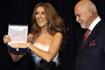 Céline Dion, René Angélil (JEFF SCHEID/LAS VEGAS REVIEW-JOURNAL)