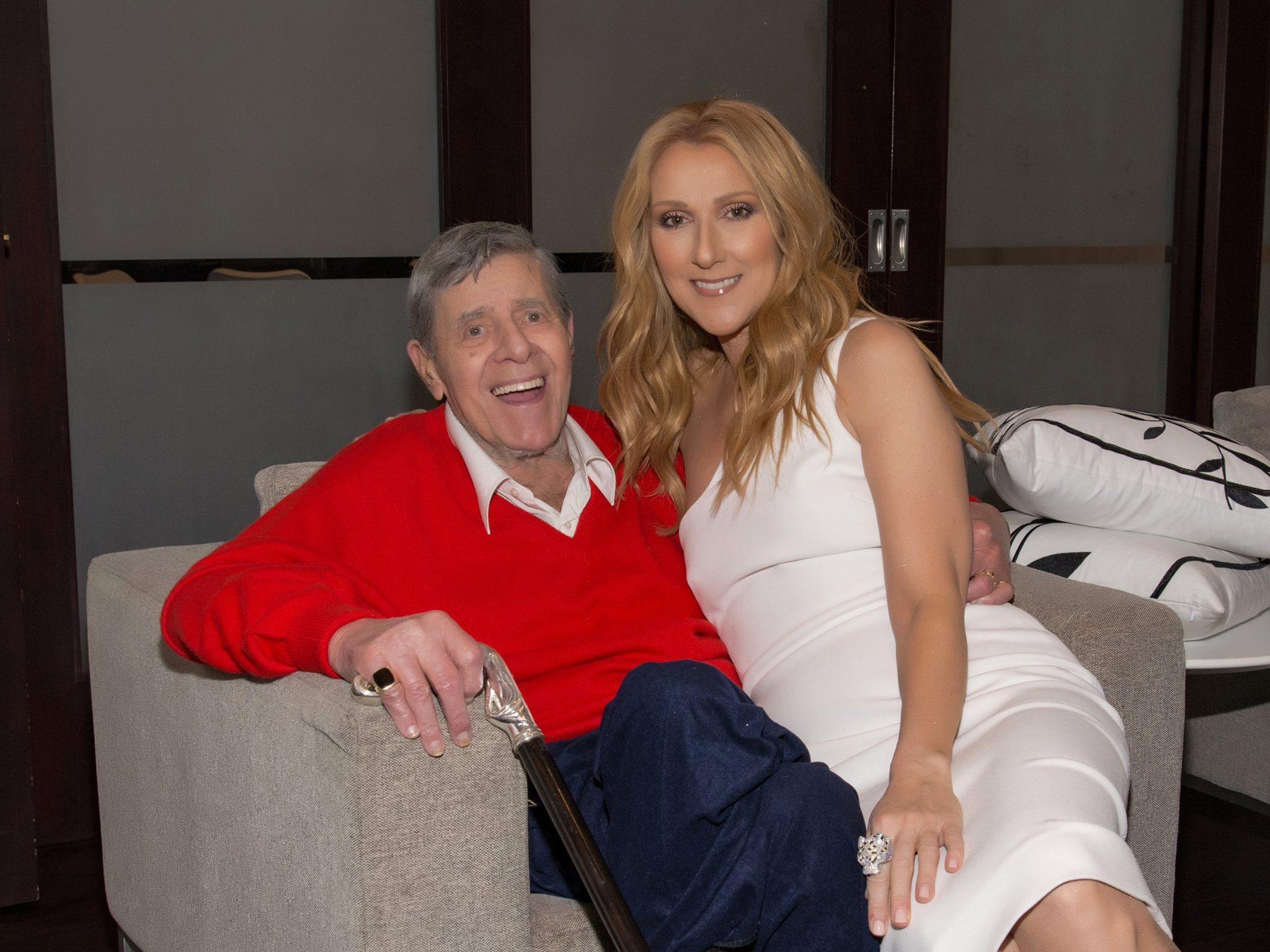 Jerry Lewis, Céline Dion