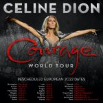 Céline Dion Courage World Tour 2022