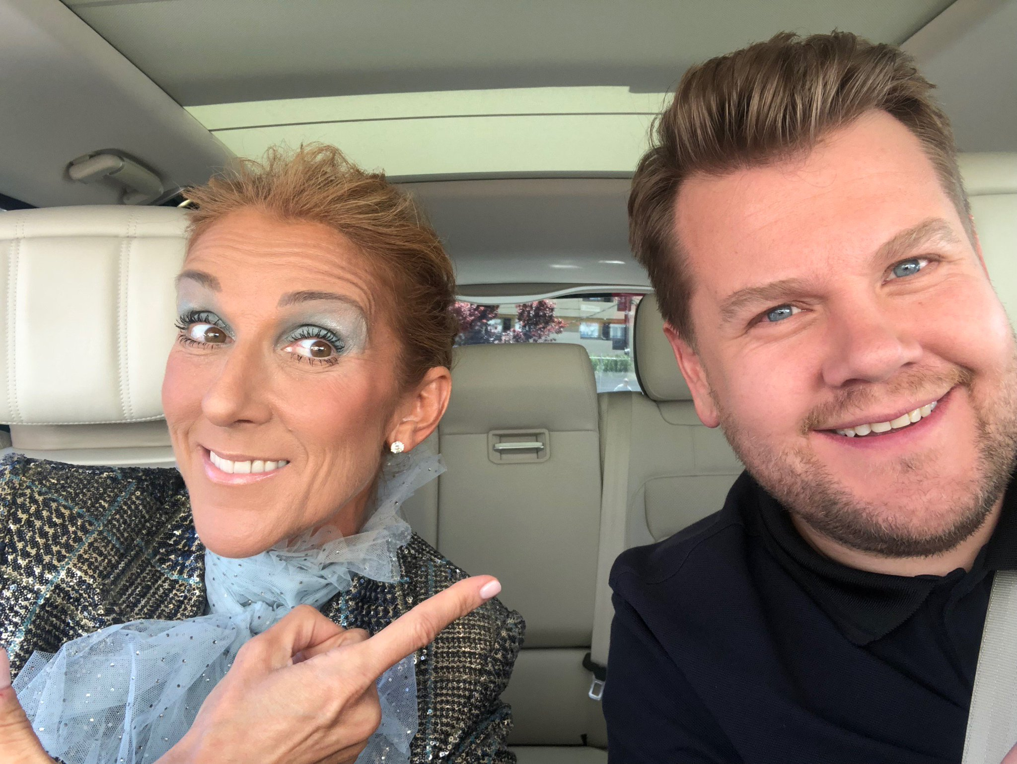 Céline Dion, James Corden