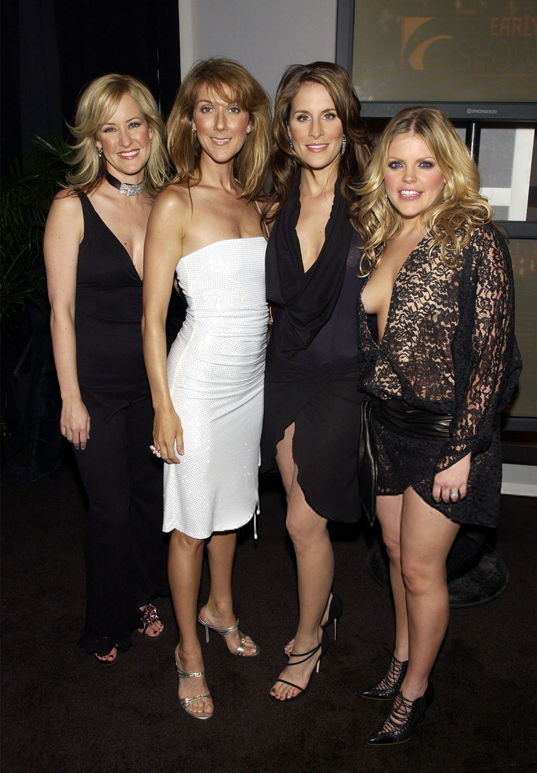 Celine Dion, The Dixie Chicks (Photo by Kevin Mazur/WireImage)