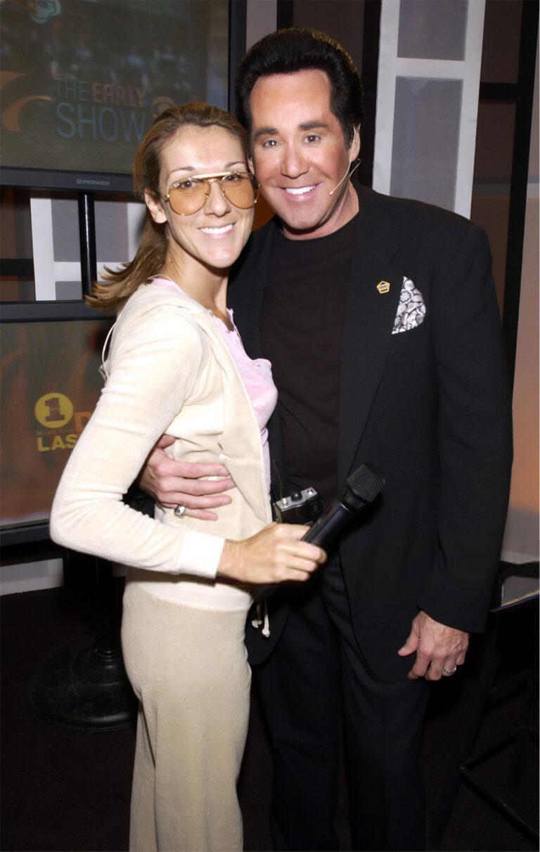 Celine Dion, Wayne Newton (Photo by KMazur/WireImage)