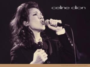 Céline Dion (Archives Les Productions Feeling)