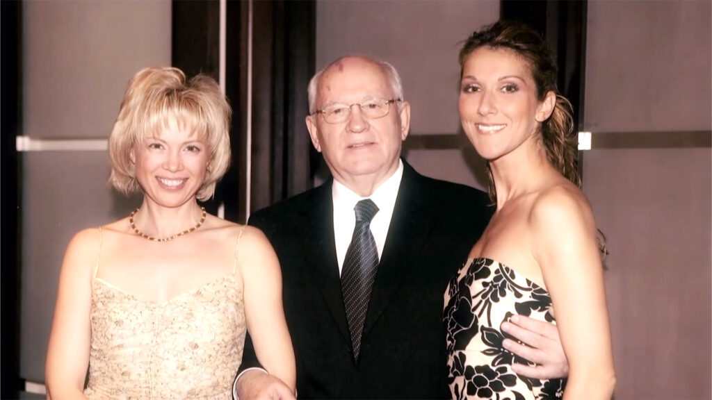 Irina Gorbacheva, Mikhail Gorbachev, Céline Dion