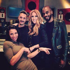Zaho, Ludovic Carquet, Céline Dion