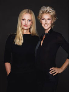 Céline Dion & Anne Geddes (© Greg Gorman)