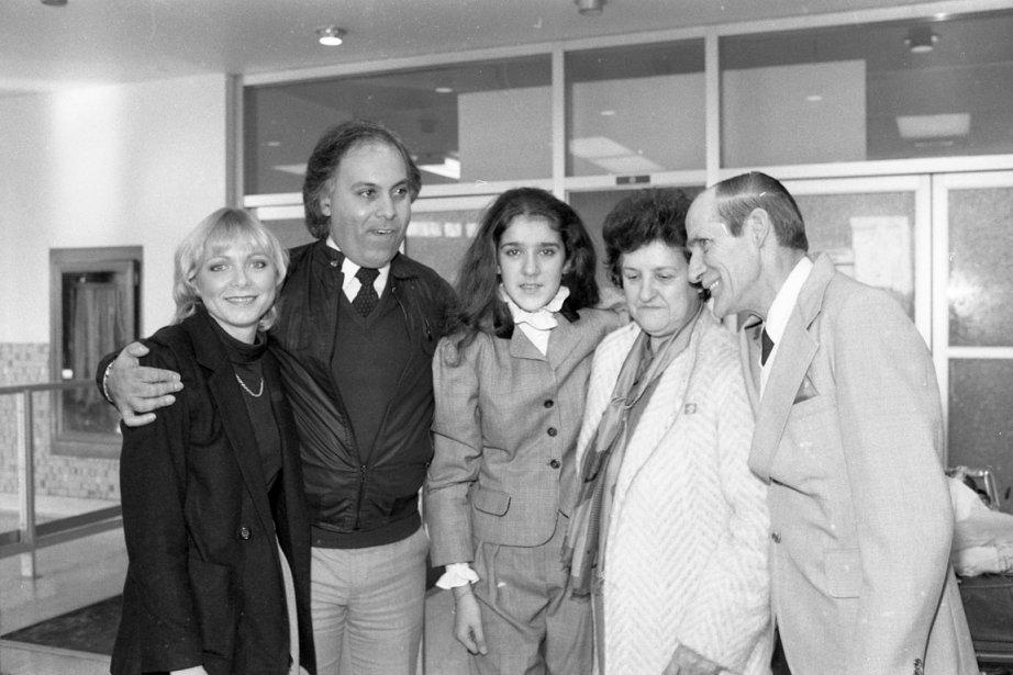 Anne-René Angélil, René Angélil, Céline Dion, Thérèse Dion, Adhémar Dion (© Le Soleil)