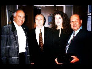 René Angélil, Phil Collins, Céline Dion  (Source: Le Journal de Québec)