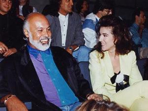 René Angélil, Céline Dion (© Échos Vedettes)
