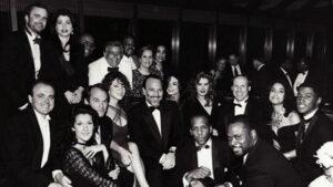 Walter Afanasieff, Céline Dion, ..., Tony Bennett, Peabo Bryson, Mariah Carey, Tommy Mottola, Michael Jackson, Brooke Shields, ..., Kenneth Edmonds