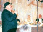 Warren Wiebe sings on Céline Dion's wedding. (© Mario Girard)
