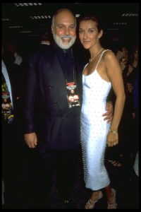 Rene Angelil, Céline Dion (© Kathy Banks/CORBIS)
