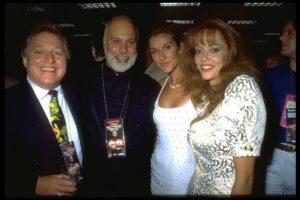 ..., Rene Angelil, Céline Dion, ... (© Kathy Banks/CORBIS)